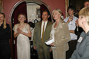 Juliet Rylance, MARK RYLANCE, VANESSA REDGRAVE, Vanessa Redgrave and Thelma Holt host a reception at the<br />