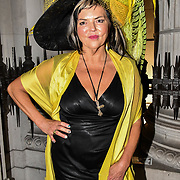 Hats Designer Carollee Emery of Brazen Canary photoshoot at Fashion Scout - SS19 - London Fashion Week - Day 2, London, UK. 15 September 2018.