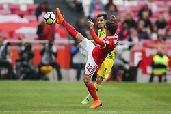 April 30, 2018 - Na - Lisboa, 04/28/2018 - Sport Lisboa Benfica received this afternoon at Estádio da Luz Tondela in the 32nd Match of the first Liga NOS. Epoca 2017 / 2018. Cervi  (Credit Image: © Atlantico Press via ZUMA Wire)