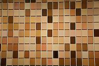 Washington DC, National Gallery. Paint chips artwork