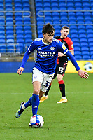 Football - 2020 / 2021 Sky Bet Championship - Cardiff City vs Coventry City - Cardiff City Stadium<br /> <br /> <br /> Perry Ng of Cardiff City on the attack