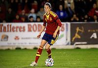 Fifa Womans World Cup Canada 2015 - Preview //  Friendly Match -<br /> Spain vs New Zealand 0-0  ( Municipal Stadium - La Roda , Spain ) <br /> Jennifer Hermoso of  Spain