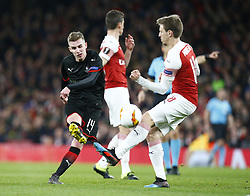 March 14, 2019 - London, United Kingdom - London, UK, 14 March, 2019.Benjamin Bourigeaud of Rennes.during Europa League Round of 16 2nd Leg  between Arsenal and Rennes at Emirates stadium , London, England on 14 Mar 2019. (Credit Image: © Action Foto Sport/NurPhoto via ZUMA Press)