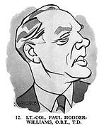These Looks Speak Volumes 12. LT.-Col. Paul Hodder-Williams, OBE, TD