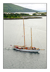 Day three of the Fife Regatta, Cruise up the Kyles of Bute to Tighnabruaich<br /> Astor, Richard Straman, USA, Schooner, Wm Fife 3rd, 1923<br /> <br /> * The William Fife designed Yachts return to the birthplace of these historic yachts, the Scotland's pre-eminent yacht designer and builder for the 4th Fife Regatta on the Clyde 28th June–5th July 2013<br /> <br /> More information is available on the website: www.fiferegatta.com
