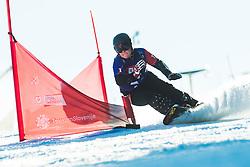 Sofia Nadyrshina (RSF) during parallel slalom FIS Snowboard Alpine World Championships 2021 on March 2nd 2021 on Rogla, Slovenia. Photo by Grega Valancic / Sportida