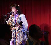 Kokusai-do?ri amusement and shopping street. Chakra bar with live music by Champloose. Singer with traditional snake-skin Okinawa Shamisen or Sanshin.