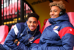Zak Vyner of Bristol City and Lloyd Kelly of Bristol City arrive at Vicarage Road for the FA Cup tie against Watford - Mandatory by-line: Robbie Stephenson/JMP - 06/01/2018 - FOOTBALL - Vicarage Road - Watford, England - Watford v Bristol City - Emirates FA Cup third round proper