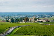 St. Emillion, a wine growing region in France, Europe