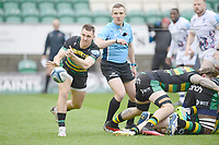 Rugby Union - 2020 / 2021 Gallagher Premiership - Round 14 - Northampton Saints vs Bristol Bears - Franklin Gardens<br /> <br /> Northampton Saints' Tom James in action during this afternoon's game.<br /> <br /> COLORSPORT/ASHLEY WESTERN
