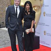 Charlie Brooker, Konnie Huq Arrivers at the British Academy Television Craft Awards on 28 April 2019, London, UK.