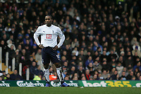 Photo: Lee Earle.<br /> Portsmouth v Tottenham Hotspur. The Barclays Premiership. 01/01/2007.Tottenham's Jermaine Defoe looks dejected after going close on goal.