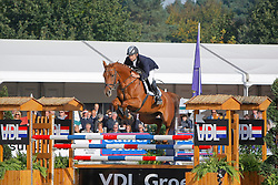 Willems Marcel (NED) - Donna Fortuna<br /> World Championship Young Horses Lanaken 2008<br /> Photo Copyright Hippo Foto