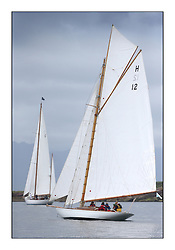 Day one of the Fife Regatta, Round Cumbraes Race.<br /> <br /> The Truant, Ross Ryan, GBR, Gaff Cutter 8mR, Wm Fife 3rd, 1910<br /> <br /> <br /> * The William Fife designed Yachts return to the birthplace of these historic yachts, the Scotland's pre-eminent yacht designer and builder for the 4th Fife Regatta on the Clyde 28th June–5th July 2013<br /> <br /> More information is available on the website: www.fiferegatta.com