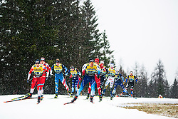 Jovian Hediger (SUI), Haavard Solaas Taugboel (NOR) during the man team sprint race at FIS Cross Country World Cup Planica 2019, on December 22, 2019 at Planica, Slovenia. Photo By Peter Podobnik / Sportida