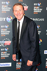© Licensed to London News Pictures. 08/05/2014, UK. Phil Tufnell, BT Sport Industry Awards 2014, Battersea Evolution, London UK, 08 May 2014. Photo credit : Brett D. Cove/Piqtured/LNP
