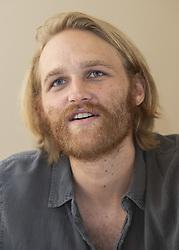 July 30, 2018 - Hollywood, CA, USA - Wyatt Russell (son of Kurt Russell) stars in the TV Series Lodge 49 (Credit Image: © Armando Gallo via ZUMA Studio)