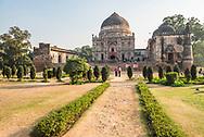 Bara Gumbad and Mosque, Lodi Gardens (Lodhi Gardens), New Delhi, India