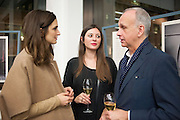ISABELLE KOUNTOURE; SARAH DOUGLAS;; RICHARD JAMES, Editor of Wallpaper: Tony Chambers and architect Annabelle Selldorf host drinks to celebrate the collaboration between the architect and three of Savile Row's finest: Hardy Amies, Spencer hart and Richard James. Hauser and Wirth Gallery. ( Current show Isa Genzken. ) savile Row. London. 9 January 2012.