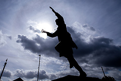 A general view of the Bob Stokoe Statue at The Stadium of Light, home to Sunderland - Mandatory by-line: Robbie Stephenson/JMP - 12/09/2020 - FOOTBALL - Stadium of Light - Sunderland, England - Sunderland v Bristol Rovers - Sky Bet League One
