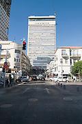 Israel, Tel Aviv, Shalom Tower in Herzl Street