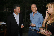 Peter Soros and Simon Sebag-Montefiore, Tatler Summer party ( in association with Fendi) Home House, Portman Sq. 29 June 2006. ONE TIME USE ONLY - DO NOT ARCHIVE  © Copyright Photograph by Dafydd Jones 66 Stockwell Park Rd. London SW9 0DA Tel 020 7733 0108 www.dafjones.com