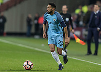 Football - 2016 / 2017 FA Cup - Third Round: West Ham United vs. Manchester City <br /> <br /> Gael Clichy of Manchester City  at The London Stadium.<br /> <br /> COLORSPORT/DANIEL BEARHAM