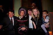 LARS THARP; GRAYSON PERRY ;  JULIAN LLOYD WEBBER;; CERRIE BURNELL; Founding Fellows 2010 Award Ceremony. Foundling Museum on Monday  8 March