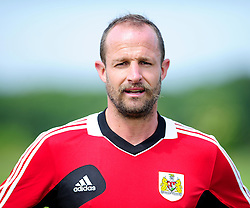 Bristol City's Louis Carey - Photo mandatory by-line: Dougie Allward/JMP - Tel: Mobile: 07966 386802 27/06/2013 - SPORT - FOOTBALL - Bristol -  Bristol City - Pre Season Training - Npower League One