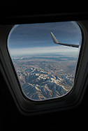 Scene from an airplane window