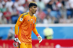goalkeeper Alireza Beiranvand of IR Iran