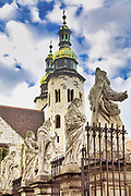 Romanski kosciol sw. Andrzeja przy ul. Grodzkiej w Krakowie<br /> St Andrew Church, Grodzka Street in Cracow, Poland