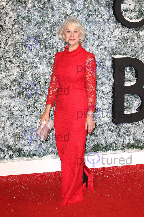 Helen Mirren, Collateral Beauty - European film premiere, Leicester Square, London UK, 15 December 2016, Photo by Richard Goldschmidt