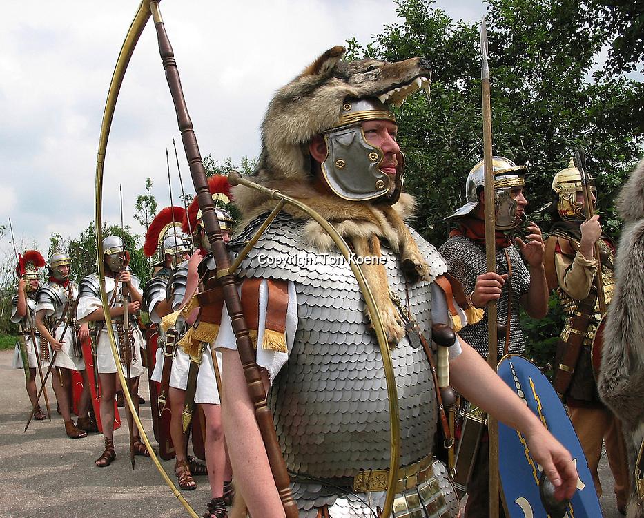Roman life simulated at a dutch themepark
