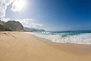 Keawaula Beach, Yokohama Bay, Leeward Oahu, hawaii