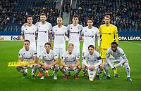ST PETERSBURG, RUSSIA - OCTOBER 19, 2017. UEFA Europa League group stage: Zenit St Petersburg (Russia) 3 – 1 Rosenborg BK (Norway). Rosenborg BK team.