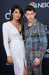Priyanka Chopra and Nick Jonas at the 2019 Billboard Music Awards held at the MGM Grand Garden Arena in Las Vegas, USA on May 1, 2019.