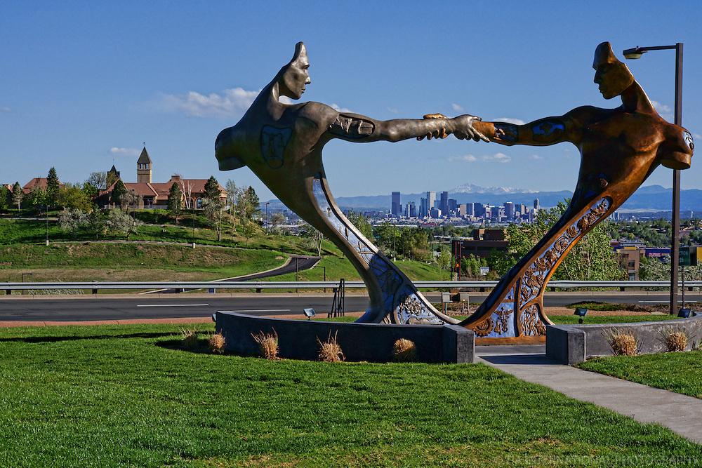 Skyline from Communis Statute, Thornton