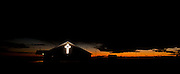 CROSSES AT DUSK, YUMA COUNTY, COLORADO<br /> <br /> Also available as a limited edition backlit print in bespoke framed lightbox. London only - please contact Matt directly to order