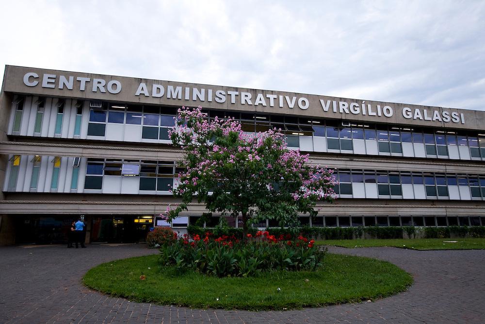 Uberlandia _ MG, Brasil...Centro Administrativo Virgilio Galassi em Uberlandia...The Administrative Center Virgilio Galassi in Uberlandia...Foto: BRUNO MAGALHAES / NITRO