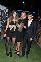 HAYLEY SIEFF and her children JEMIMA SIEFF and JACK SIEFF at Gabrielle's Gala an annual fundraising evening in aid of Gabrielle's Angel Foundation for Cancer Research held at Battersea Power Station, London on 2nd May 2013.