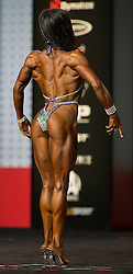 Sept.16, 2016 - Las Vegas, Nevada, U.S. -  ALLISON FRAHN competes in the Figure Olympia contest during Joe Weider's Olympia Fitness and Performance Weekend.(Credit Image: © Brian Cahn via ZUMA Wire)