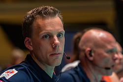 28-05-2019 NED: Volleyball Nations League Netherlands - Brazil, Apeldoorn<br /> <br /> Assistant Coach Arne Hendriks