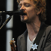 Brendan Benson of The Raconteurs at the New American Music Union in Pittsburgh, PA on August 9, 2009.
