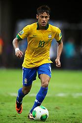 Neymar durante a partida contra o Japão, válida pela primeira rodada da Copa das Confederações, no Estádio Nacional Mané Garrincha, em Brasília. FOTO: Jefferson Bernardes/Preview.com