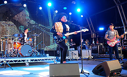 Party at the Palace, Linlithgow, Saturday 12th August 2017<br /> <br /> Noisettes perform at Party at the Palace featuring lead singer Shingai Shoniwa<br /> <br /> (c) Alex Todd | Edinburgh Elite media