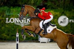 Meyer Janne Friederike, (GER), Goya 27<br /> Furusiyya FEI Nations Cup Jumping Final - Barcelona 2016<br /> © Hippo Foto - Dirk Caremans<br /> 24/09/16