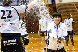 Ljudmila Bodnjeva at last 10th Round handball match of Slovenian Women National Championships between RK Krim Mercator and RK Olimpija, on May 15, 2010, in Galjevica, Ljubljana, Slovenia. Olimpija defeated Krim 39-36, but Krim became Slovenian National Champion. (Photo by Vid Ponikvar / Sportida)