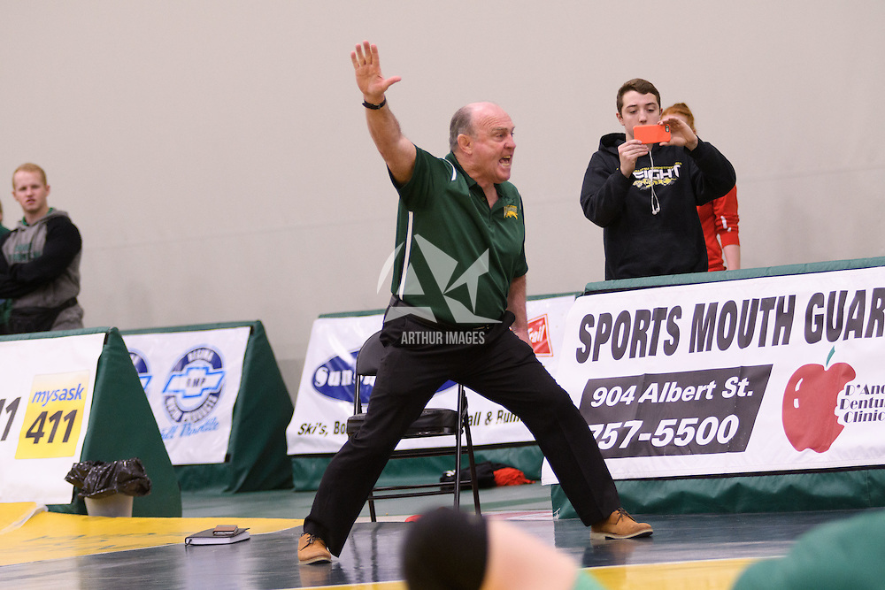 Cougar Wrestling Tournament  on November 19 at Centre for Kinesiology, Health and Sport. Credit: /Arthur Images