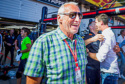 30.06.2019, Red Bull Ring, Spielberg, AUT, FIA, Formel 1, Grosser Preis von Österreich, Siegerehrung, im Bild Dietrich Mateschitz (AUT) Red Bull Gruender und Eigentuemer // CEO and Founder of Red Bull Dietrich Mateschitz (AUT) during the Winner ceremony for the Austrian FIA Formula One Grand Prix at the Red Bull Ring in Spielberg, Austria on 2019/06/30. EXPA Pictures © 2019, PhotoCredit: EXPA/ Dominik Angerer